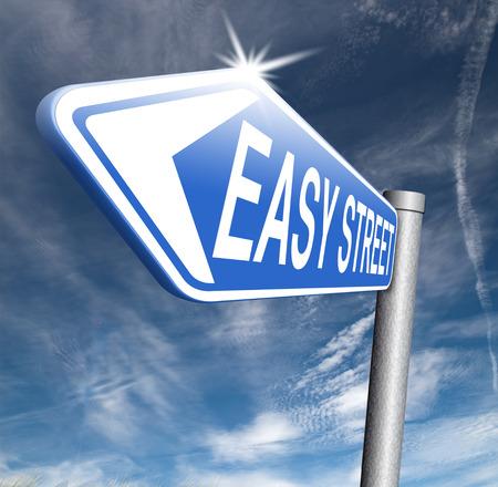 easy street no risk stress free safe solution avoid all hazards photo