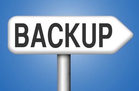 dat: Backup dei dati e software per la copia nel cloud su un disco hard disk su un computer o un server per la sicurezza dei file Archivio Fotografico