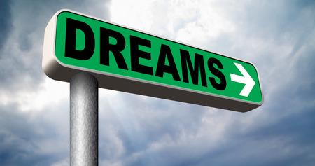 realiseren: dromen te realiseren en maak uw droom waar te zijn succesvol en uw doelen te bereiken of met tekst en woord-concept