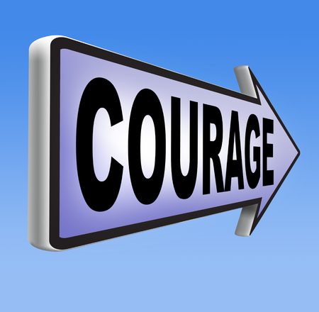 courage and bravery the ability to confront fear pain danger uncertainty and intimidation fearless  photo