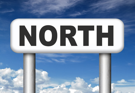 geographical:  north geographical compass direction north pole