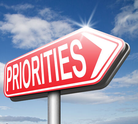 crucial: priorities important very high urgency info highest importance crucial information top priority dont forget