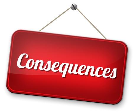 gevolgen geconfronteerd met feiten en accepteren toedoen nemen en het gezicht van verantwoordelijkheden