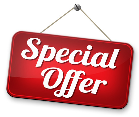 special opromotion offer exclusive bargain promotion low hot price best value photo
