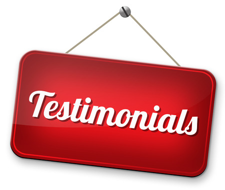 testimonials comments or customer feedback