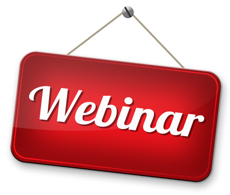 online workshop webinar or online smeminar meeting or conference photo