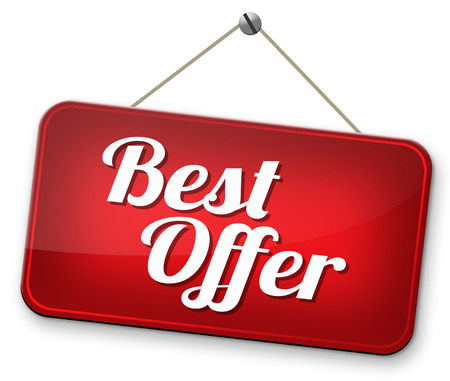 best offer lowest price for value web shop or online promotion photo