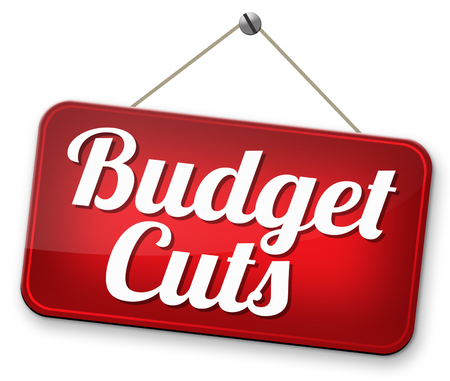 cutback: budget cuts reduce costs and cut spendings during crisis or economic recession