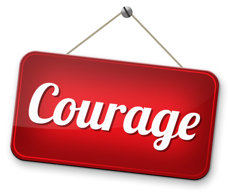 fearless and courage and bravery the ability to confront fear pain danger uncertainty and intimidation courageous Banco de Imagens