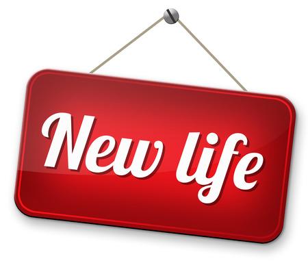 incominciare: nuova strada di vita per iniziare fresco nuovo segno di partenza