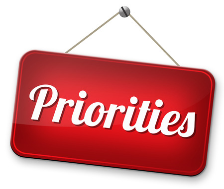 crucial: priorities important very high urgency highest importance crucial information top priority dont forget