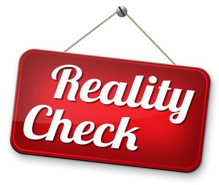 actuality: alla realt� terra check-up per eventi della vita reale e obiettivi realistici
