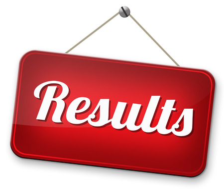poll: test results and succeed business success be a winner in business elections pop poll or sports result test result business report election results Stock Photo