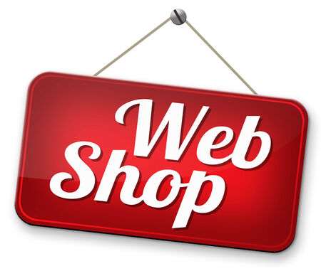 webshop: webshop road sign buy or sell at internet web shop online shopping e-commerce