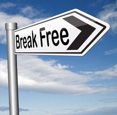 break free from prison pressure or quit job running away towards stress free world no rules photo