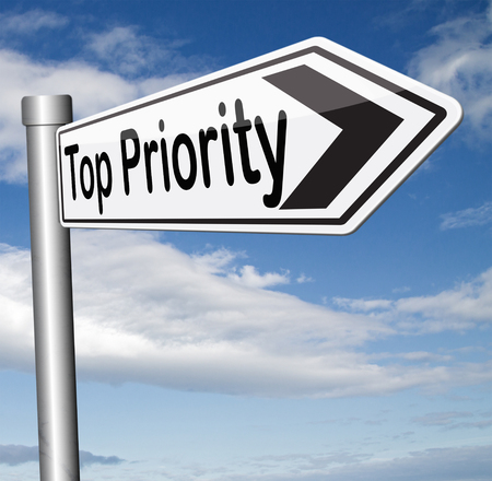 crucial: very important with highest top priority highly significant and crucial information, last chance act now or never road sign