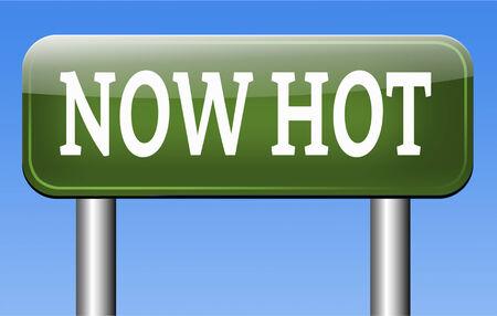 trending: caldo ora di prodotto o di prezzo ultimissime notizie ed ora nuovo trend Archivio Fotografico