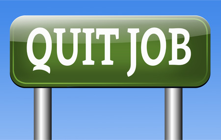 quit job career move resigning from work and getting unemployed photo