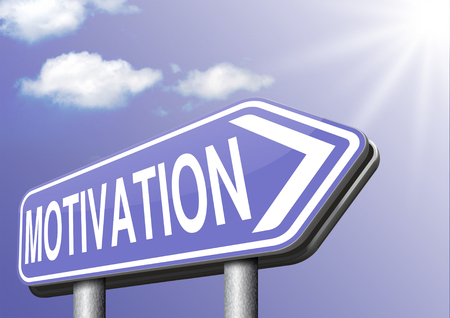 job or work motivation believe in yourself keep going and trying dont quit go for it Stock Photo