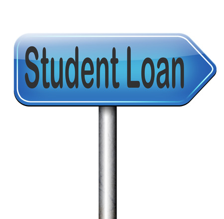 education loan: Student loan for university or college education grant or study scholarship