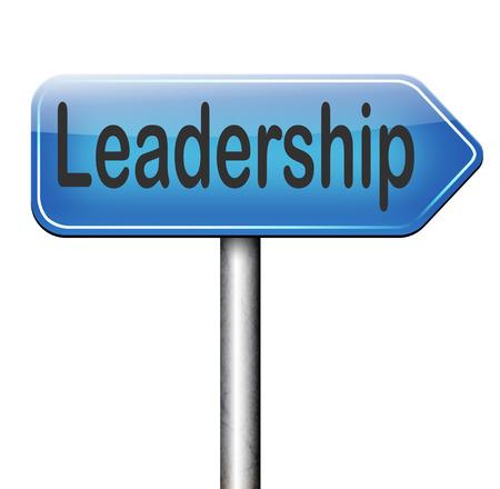 follow the leader: leiderschap follow teamleider grote natuurlijke zakelijk leider of marktleider weg teken pijl