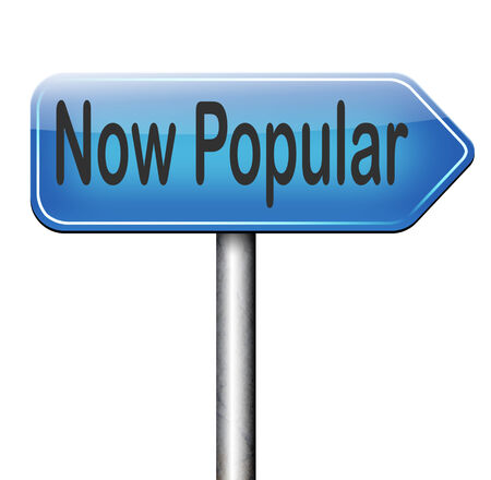 trending: now popular lastest trends,  fashion trend trending product or activity road sign