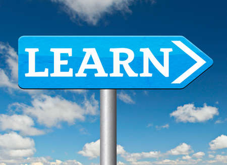 online education: learn and study and find info information sign. Online education unniversity and learning. Search and find knowledge online.