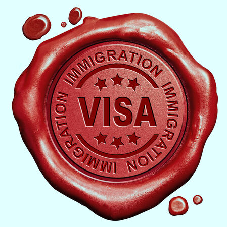 visa immigration travel passport access granted or denied photo