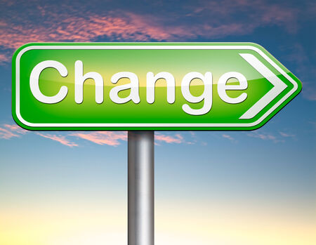 change direction: changes ahead going different direction change and improvement making thing better for the future positive evolution improve the world and your life now