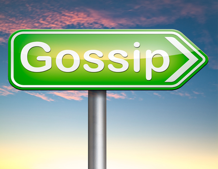 blab: gossip small girl talk and spreading latest rumors