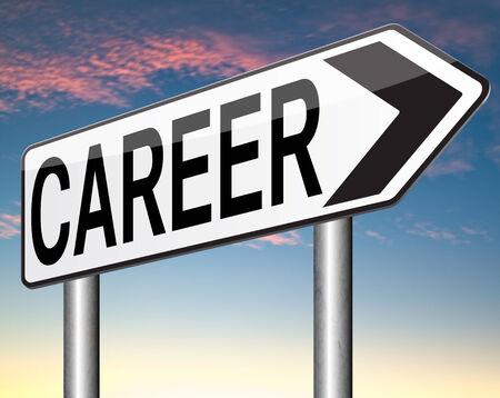 careerist: career change or move careerist new job opportunity Stock Photo