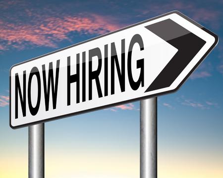 job opening: ahora la contrataci�n, oferta de trabajo y la b�squeda de vacantes y encontrar empleo Foto de archivo