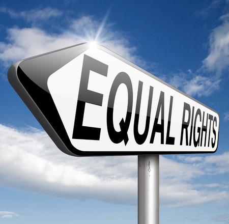 equal rights: equal rights equality for all man and women