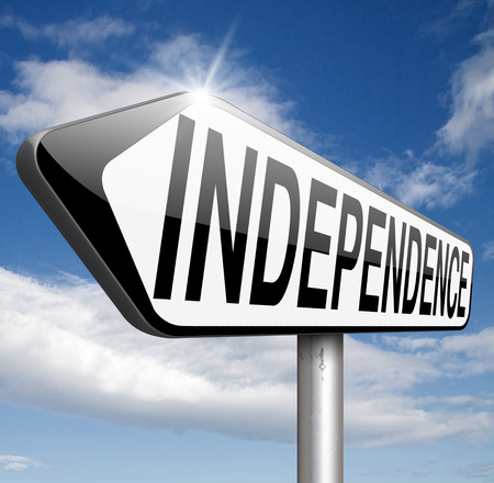 sufficient: independence self sufficient or self employed independent life for the elderly disabled or young people