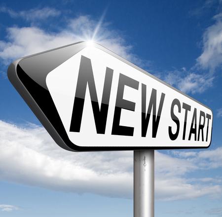 start: Neuanfang frisch beginnen oder Chance zur�ck an den Anfang und spielen Sie das Spiel erneut