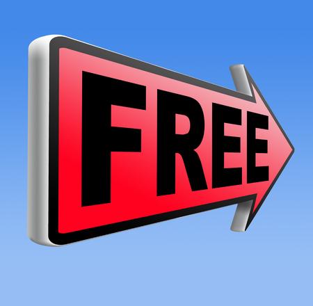 hidden costs: Free product trial sample offer or gratis download webshop web shop road sign