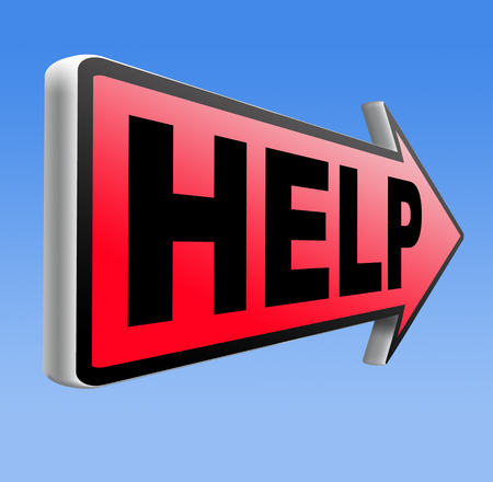 find us: help need support find solution please give a us helping hand if you wanted assistance Stock Photo