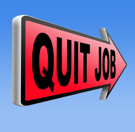 quit job change profession resigning from work and getting unemployed photo