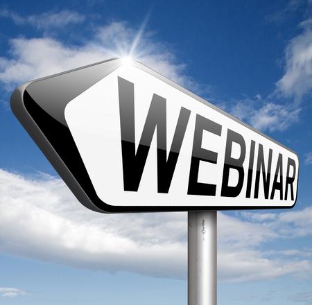 webinar online conference internet web meeting or workshop live video chat photo