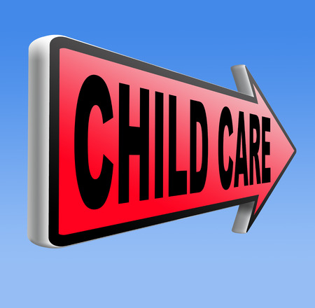 babysitting: child care in daycare parenting or babysitting protection against child abuse