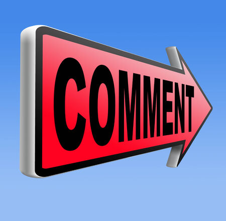 comment feedback write and leave comments for product review or customer satisfaction photo