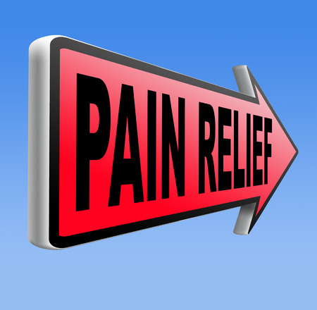 painkiller: pain relief and management by painkiller for back pain or migraine