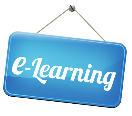 virtual school: e-learning online education internet learning in open school or university virtual elearning