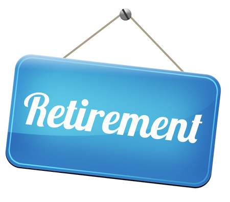 pension fund: retirement ahead retire and pension fund or plan golden years