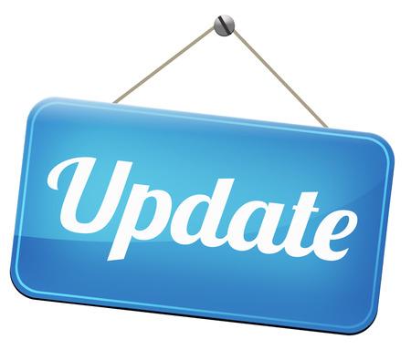 Bijwerken updaten van de software nu en hier om de laatste nieuwste versie of nieuwe editie
