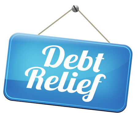 restructuring: debt relief after bankruptcy caused by credit or housing bubbles restructuring finance after economic or bank crisis Stock Photo