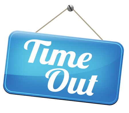 relieve: time out take a break from stress and work leisure time off relaxation taking a Holliday Stock Photo