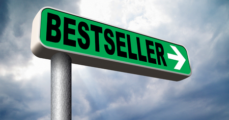 bestseller: bestseller top product, most wanted item sales promotion best seller book best value Stock Photo