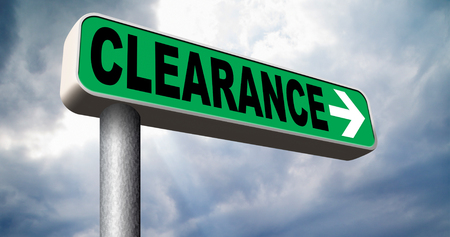 grand sale: clearance grand sale stock summer or winter sales final clearances Stock Photo