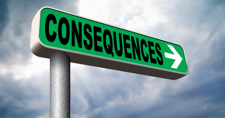 consequences facing facts and accept consequence of acts take and face responsibilities